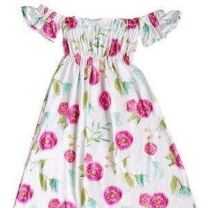Other - Boho Beauty Cold Shoulder Maxi Dress KIDS